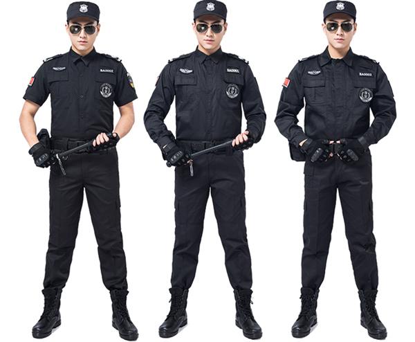 定做保安服装图片大全推荐与赏析10