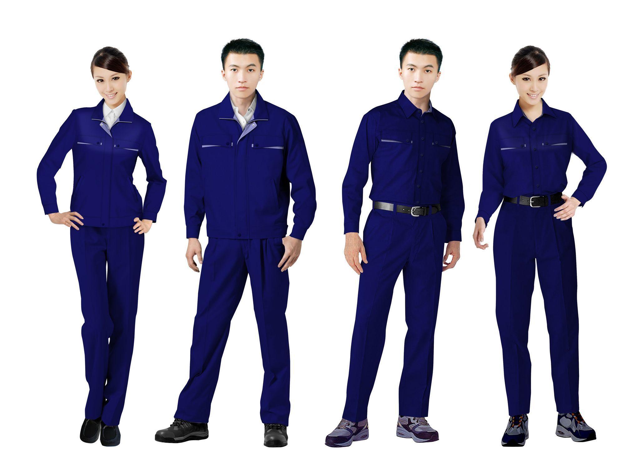 工作服设计图系列方案03