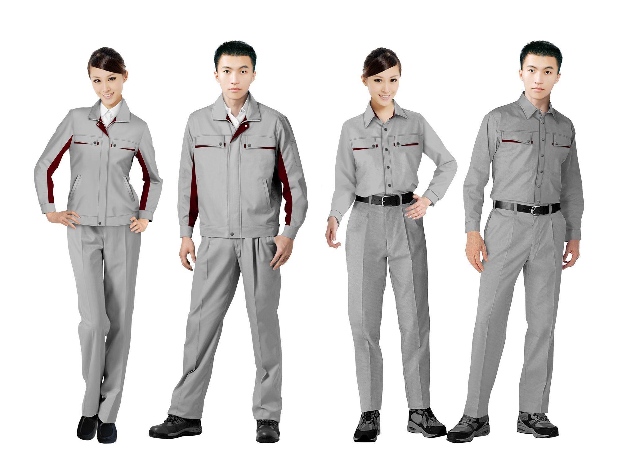 工作服设计图系列方案09
