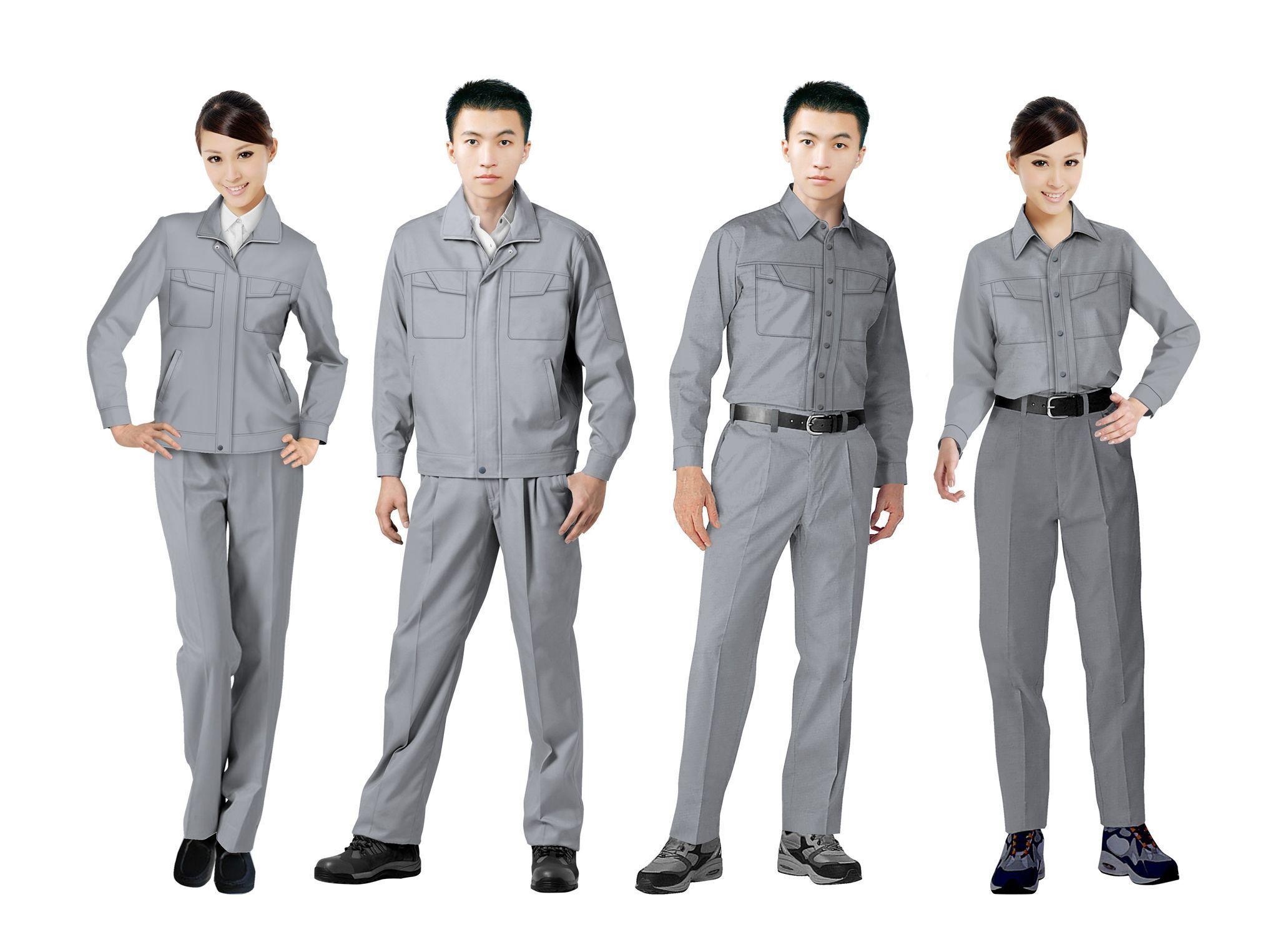 工作服设计图系列方案11